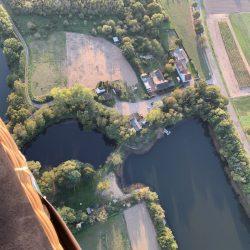 Idylle am Niederrhein - Blick auf einen See